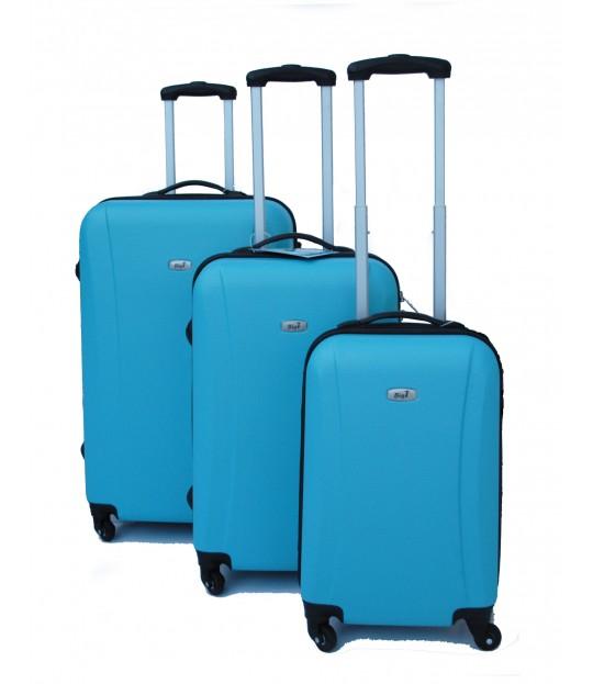BigT-Koffertsett, turkis