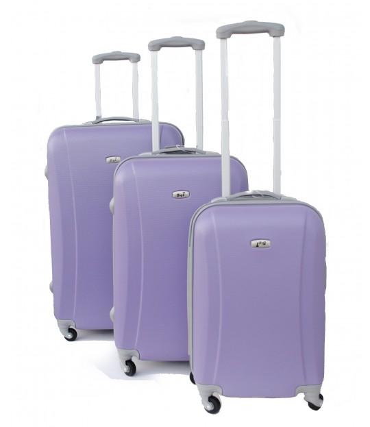 BigT-Koffertsett, lys lilla