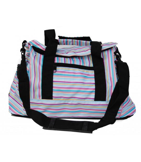 Gymbag, regnbuemønster