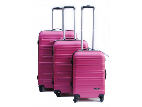 Big-T koffertsett, Cerise