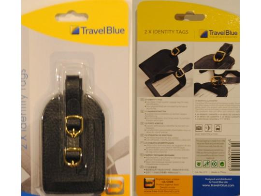 Travel Blue - Navneetiketter