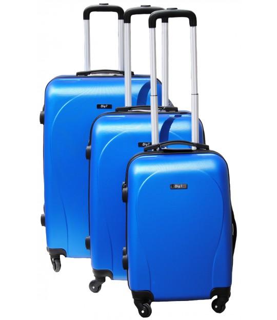 BigT Basel, koffertsett, blå